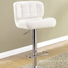 BM131945 Kori Contemporary Bar Chair, White Finish