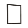 Well Crafted Splendid Mirror With Dark Brown Finish Wooden Frame - BM141798