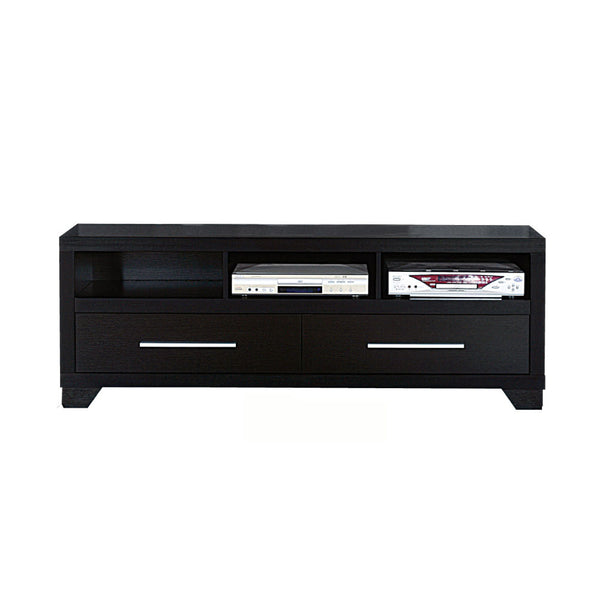 Rich and Elegant TV Stand With Storage, Black - BM141950