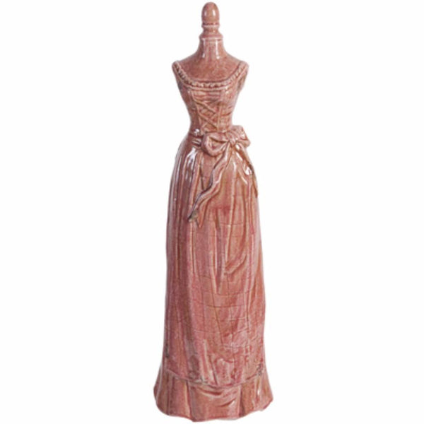Princess Look Mannequin In Brick Red Finish - BM145818