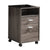 File Cabinet On Wheels With One Shelf, Gray - BM148856
