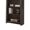 Elegantly Designed 5-Tier Bookcase, Gray - BM148860