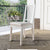 Lustrous Wooden Dining Chair With Solid Legs, Set of Two, White - BM148910