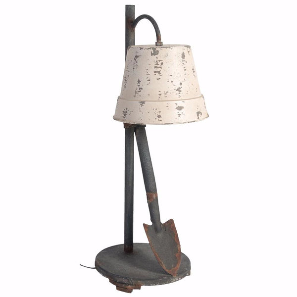 BM149490 Ideal and Distinctive Distressed Table Lamp