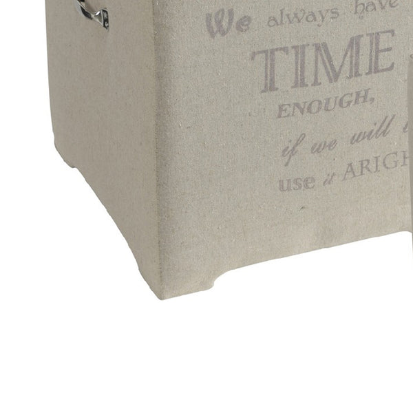 BM149631 Suavely Trimmed Montague Time Cubes,  Set of 2