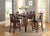 Swish Cashew Wood 5 Pieces Counter Height Dining Set In Brown - BM167134