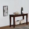 Wooden Console Table With One Drawers Brown - BM171395