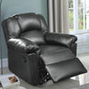BM171422 Bonded Leather Rocker/Recliner, Black