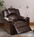 BM171425 Bonded Leather Rocker/Recliner, Brown