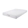 Eastern King Size Mattress with High Density Memory Foam, White - BM206551