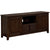Wooden TV Stand with 2 Storage Cabinets and Chamfered Legs in Brown - BM207952