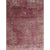 7 X 5 Feet  Polyester Rug with Distressed Medallion Pattern, Red - BM214143