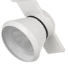 12W Integrated LED Metal Track Fixture with Dimmer Feature, White - BM220691