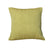 18 x 18 Textured Handwoven Cotton Accent Pillow, Yellow - BM221680