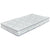 Fabric Upholstered Queen Mattress with Bonnel Coils, White - BM227599