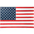 Wooden Rectangular Wall Art with AMERICAN FLAG Design, Multicolor - BM230539