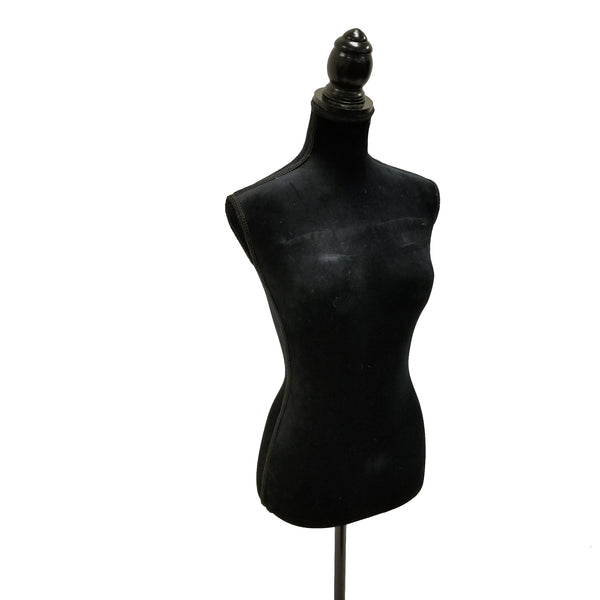 Female Solid Black Mannequin by Urban Port