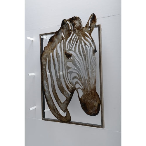 Unique Zebra Metal Art by Urban Port
