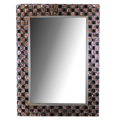 Amazing Mirror with Stones - Benzara