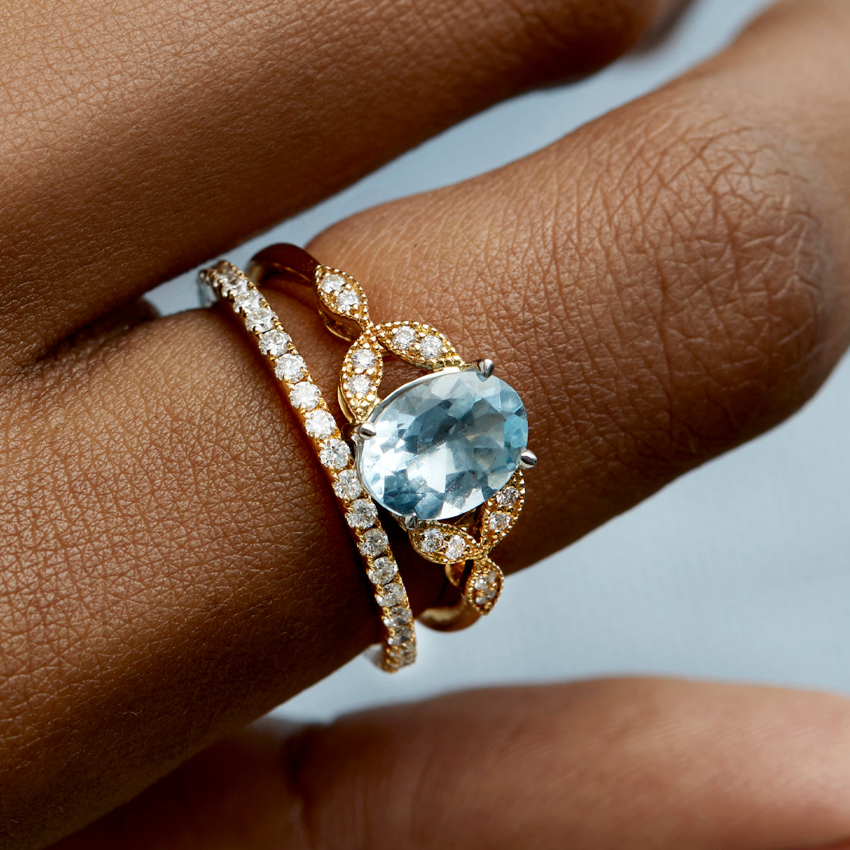 Engagement ring, engagement ring trends, modern / alternative / unique engagement ring