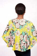 Yellow Ankara Capellette