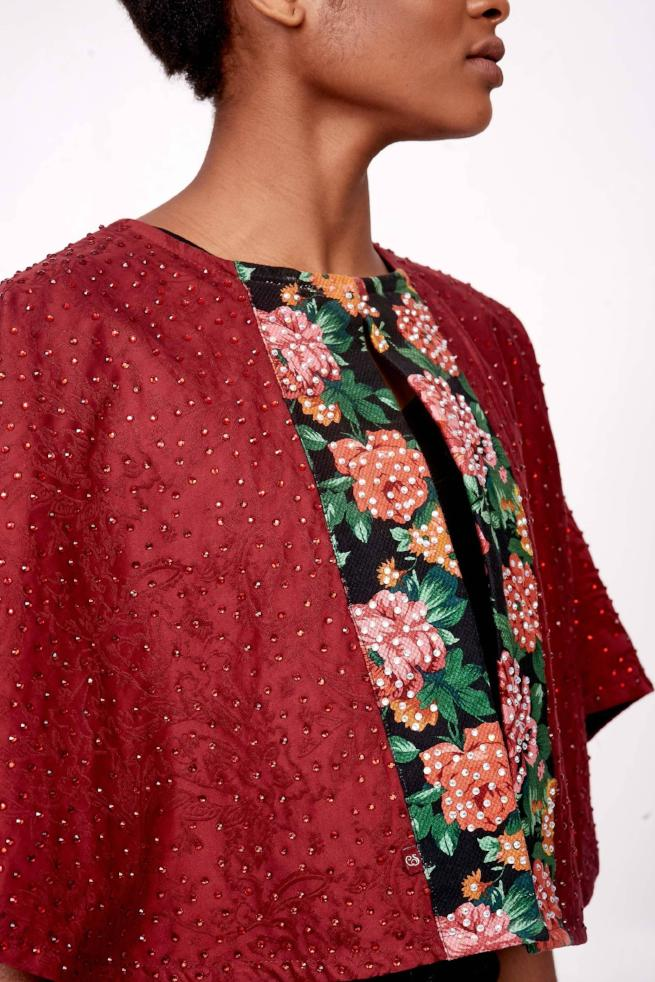 Capellette in Wine with Floral