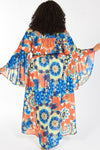Kaleidoscope Off The Shoulder Hope Duster