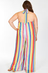 plus - Rainbow Stripes
