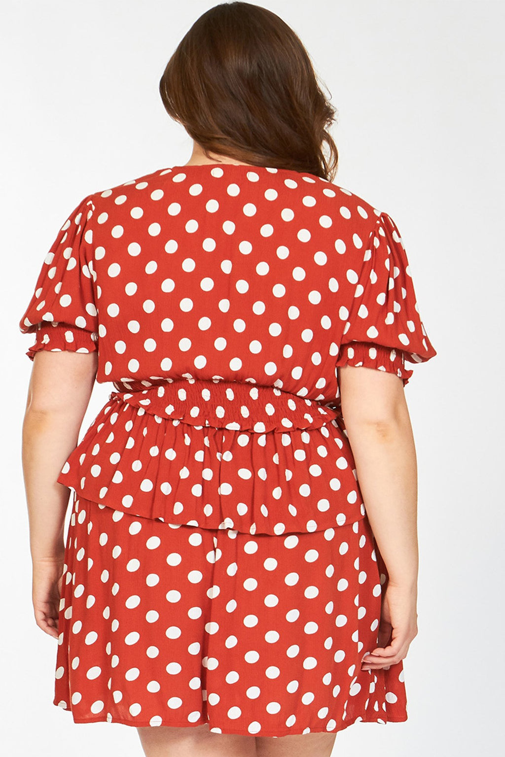 plus - Red Polka Dot