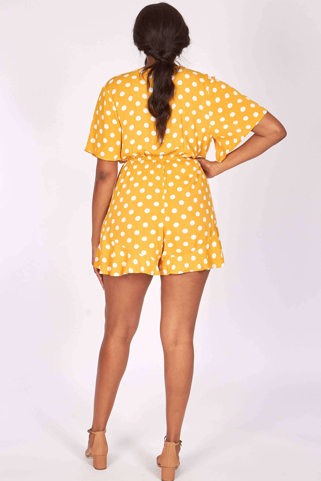 plus - Gold Polka Dot