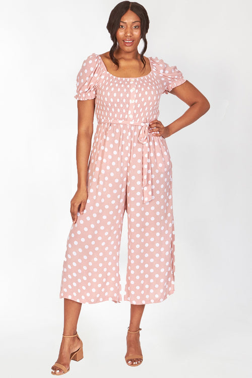 plus - Pink Polka Dot