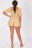 plus - Beige Polka Dots