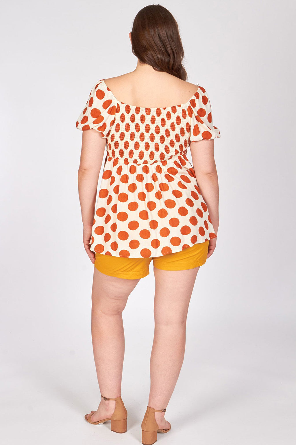 plus - Off White Polka Dot