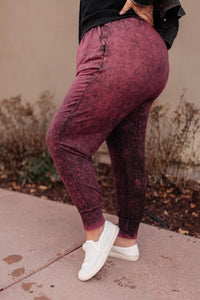 Cozy Joggers in Blackberry