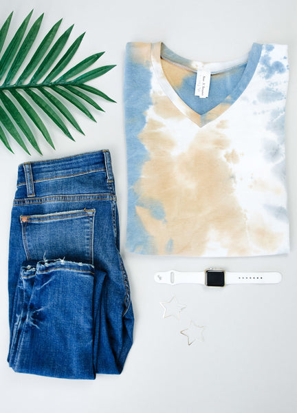 Earth Wind & Tie Dye Top