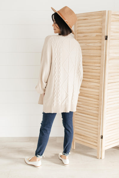 Slouchy and Cozy Cardigan