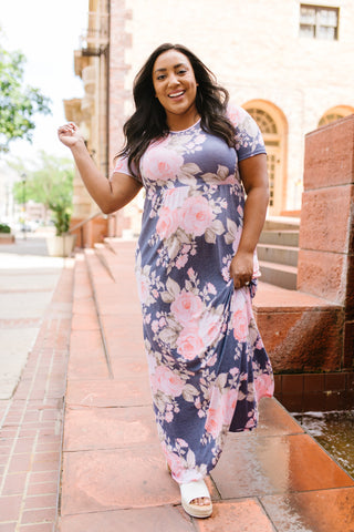 To The Max Floral Maxi Dress