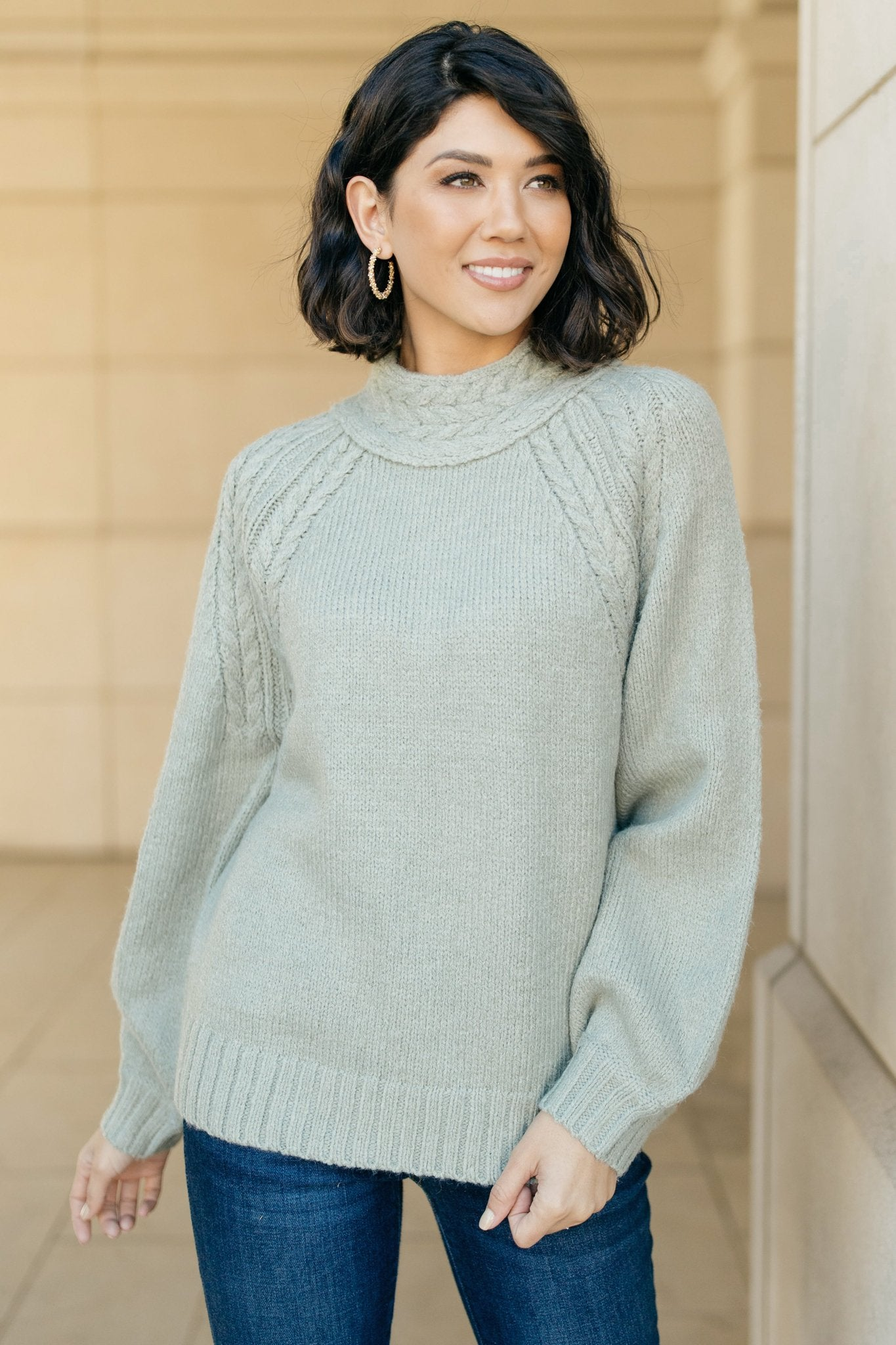 Your Favorite Knit Sweater in Lime