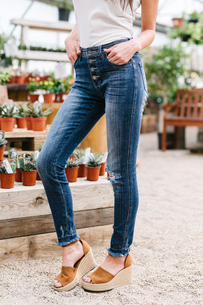KanCan A Stitch In Time Jeans