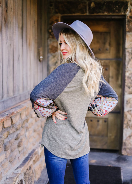 Ace Up Your Sleeve Blouse