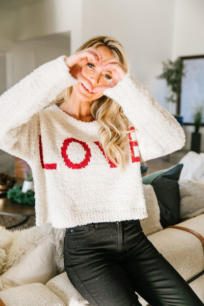All You Need Sweater In Ivory