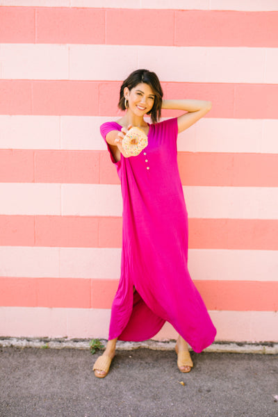 Chillax Summer Maxi In Magenta