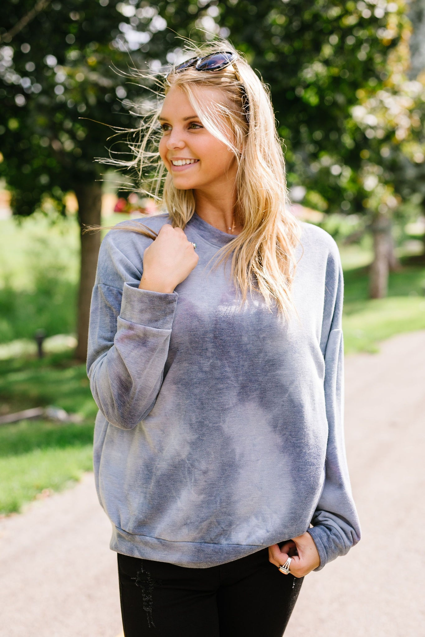 Clear Waters Tie Dye Sweatshirt