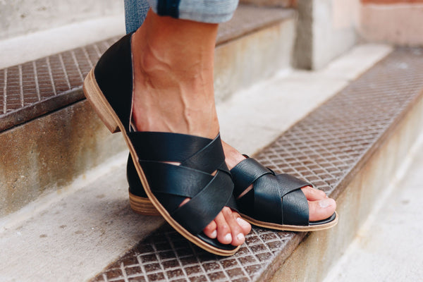 Crossroads Slip-On Sandals