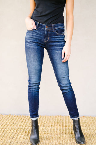 Judy Blue Tall Dark And Fabulous Jeans