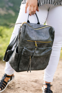Wanderlust Backpack In Gray
