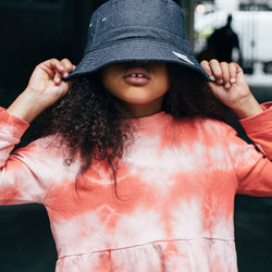 Vintage Bucket Hat  | Denim