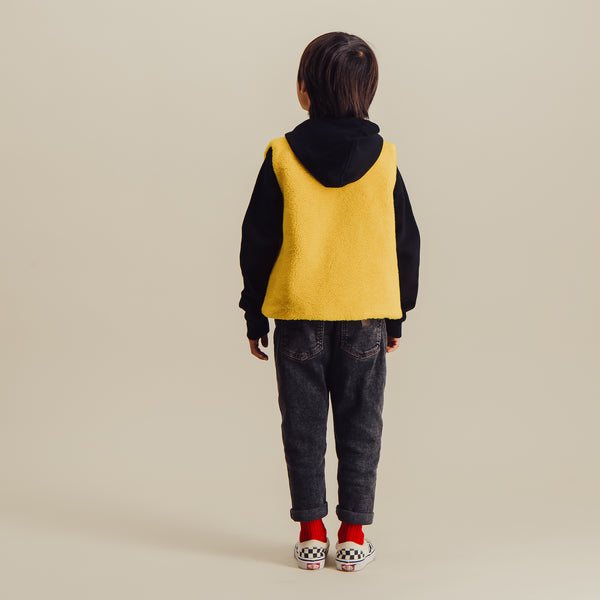 Tomorrow Vest Sheepskin 2 | Jaune