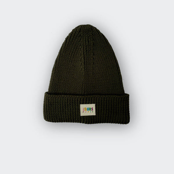 Paris Beanie LOURS x SISTERHOOD | Kaki