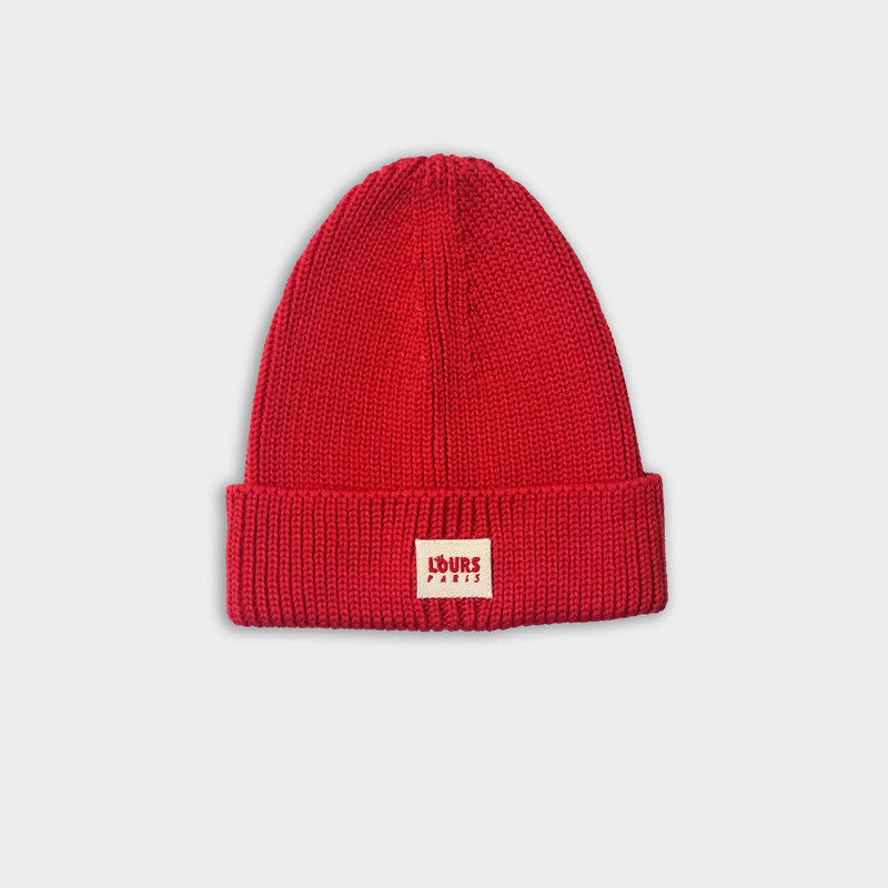 Paris Beanie | Red